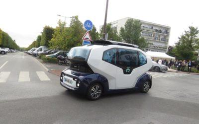 Yvelines : les navettes autonomes passent la seconde