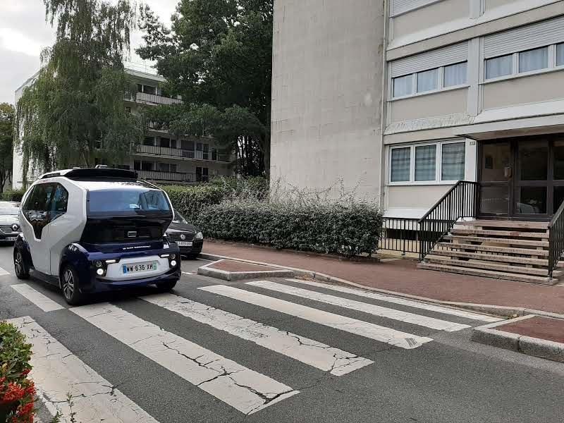 Yvelines. La navette autonome Milla circule désormais à Vélizy
