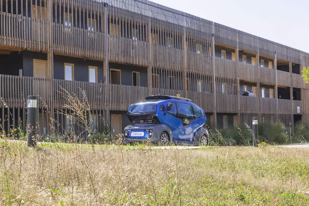 Une navette autonome va circuler à Aix début 2020