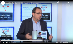 #CES2019, review on the plateau of Mobility TV